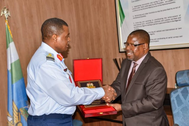 NIQS President pay courtesy visit to Chief of Air Staff